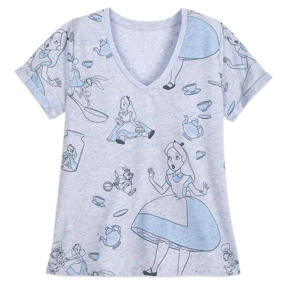 Alice in Wonderland T-Shirt for Women Official shopDisney