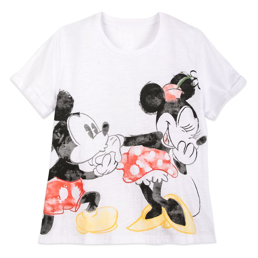 Mickey and Minnie Mouse T-Shirt for Women