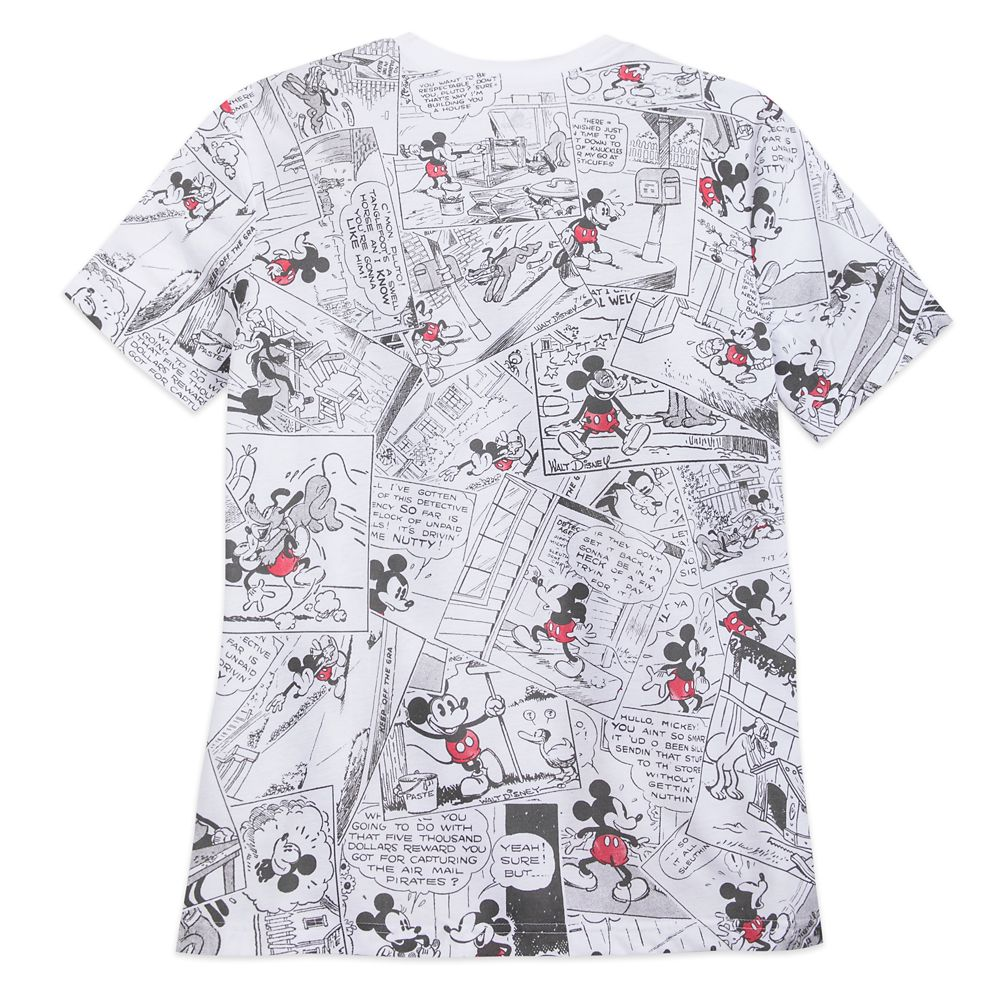 red mickey mouse t shirt