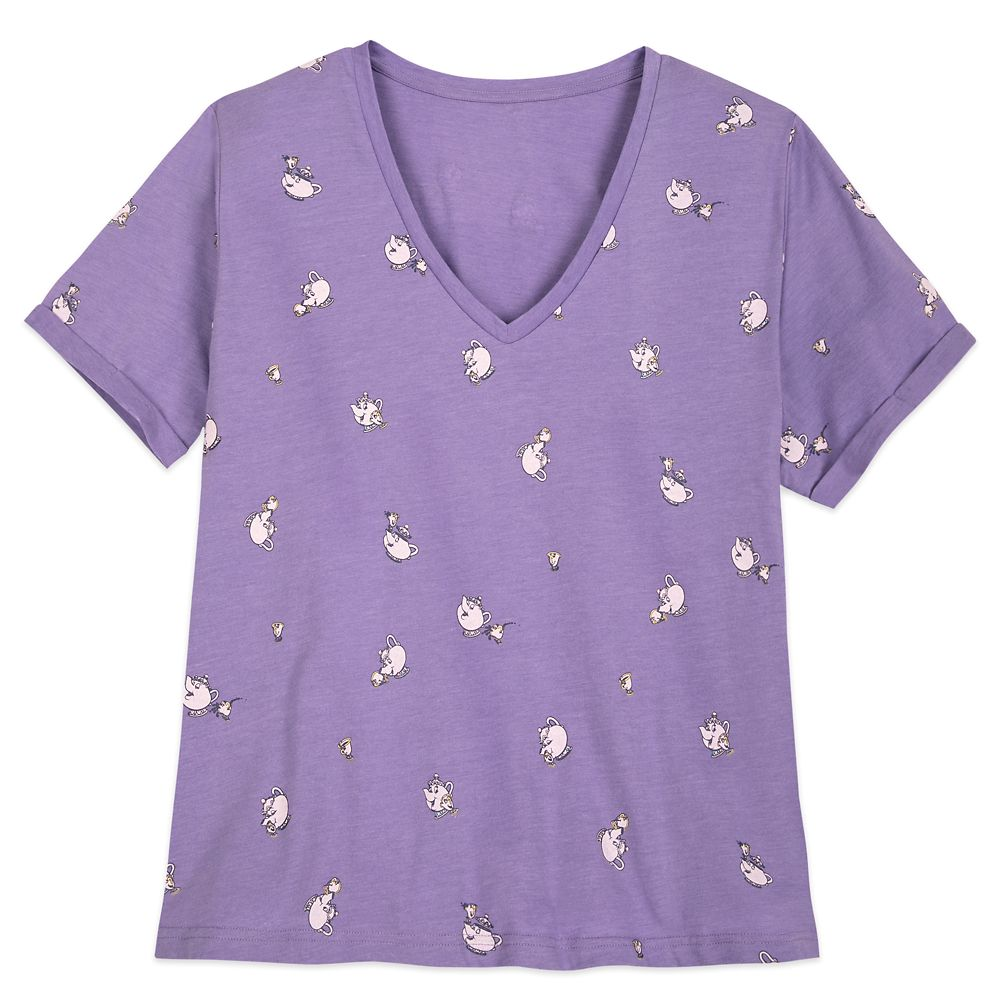 Mrs. Potts and Chip T-Shirt for Women – Beauty and the Beast – Extended Size
