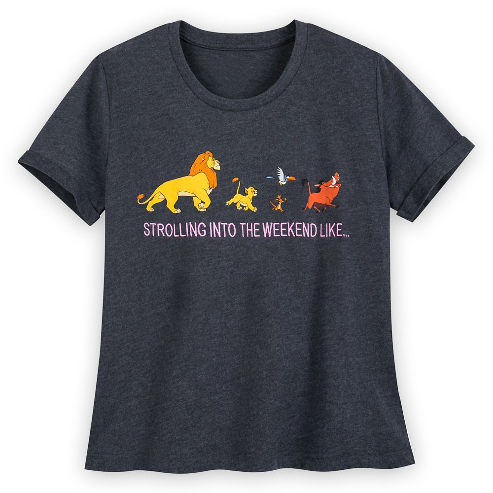 The Lion King Cropped T-Shirt for Women