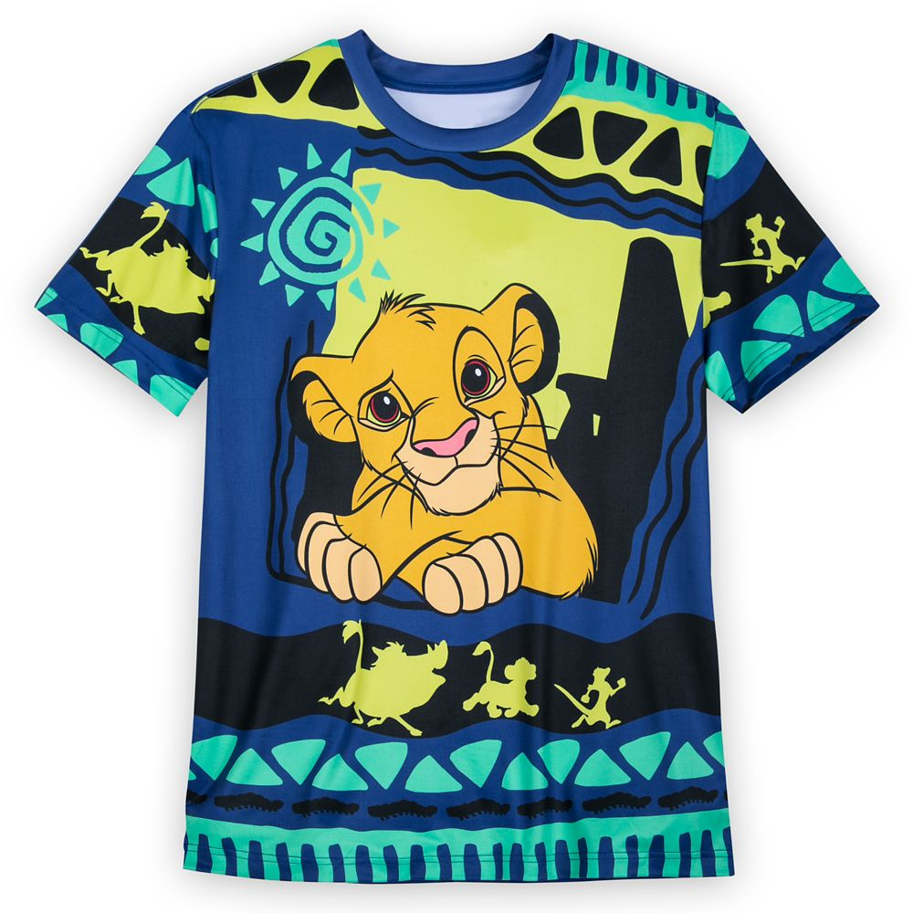 Simba Synthetic T-Shirt for Men – The Lion King