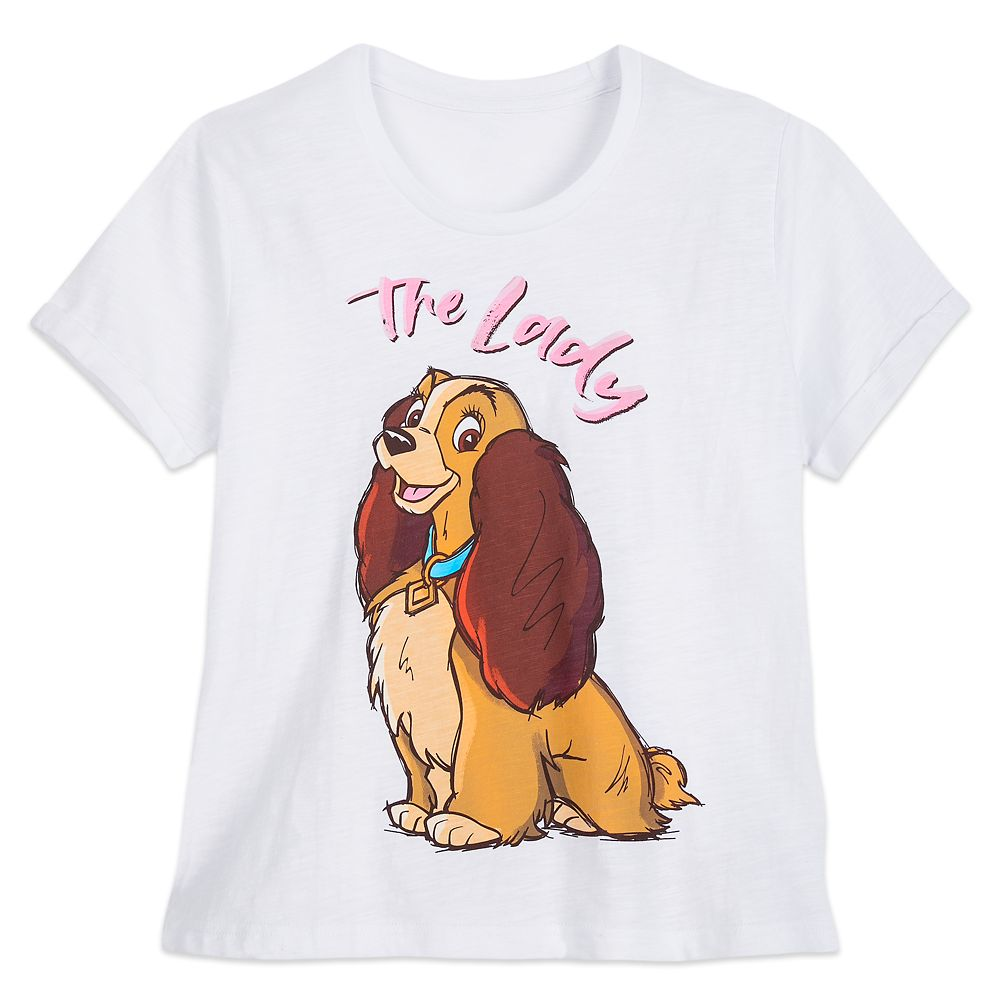 Lady ''The Lady'' T-Shirt for Women – Lady and the Tramp