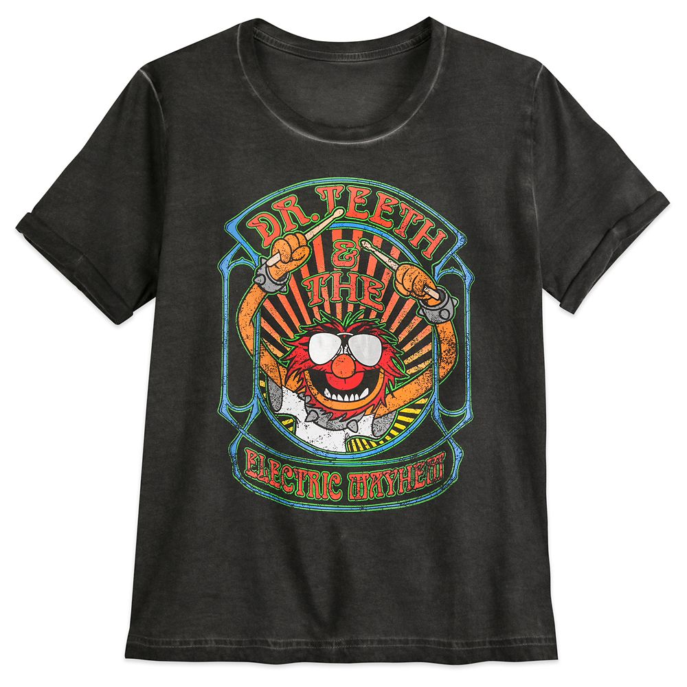 Animal T-Shirt for Women – Dr. Teeth and the Electric Mayhem – The Muppets
