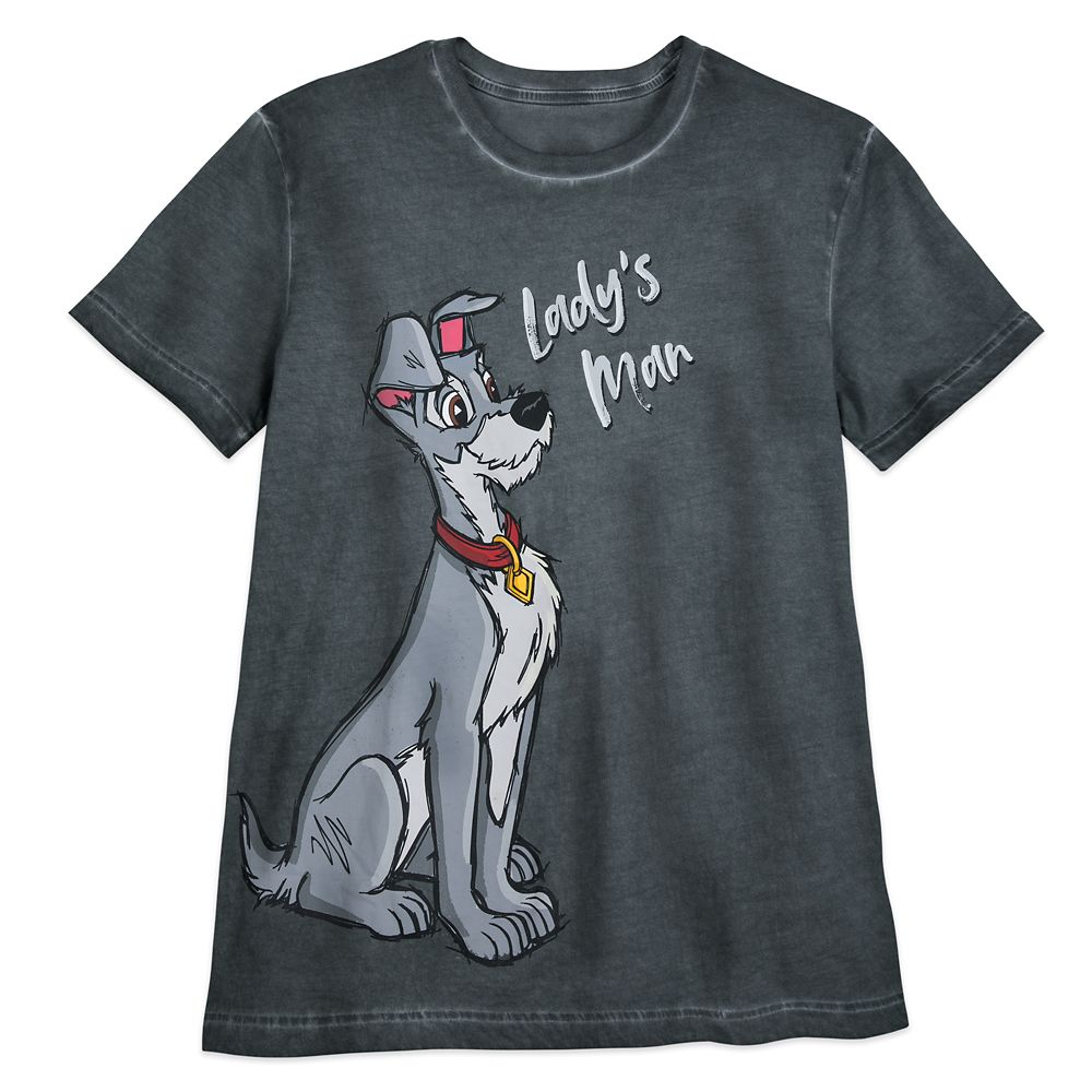 Tramp ''Lady's Man'' T-Shirt for Men – Lady and the Tramp