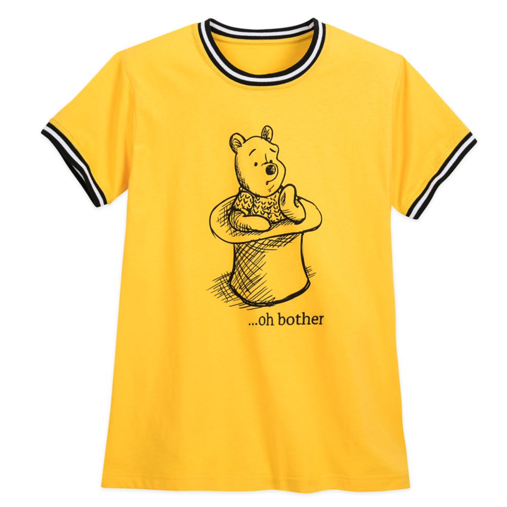Winnie the Pooh Striped Ringer T-Shirt for Women