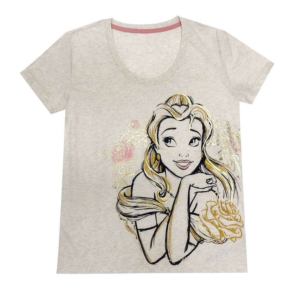 Belle T-Shirt for Women – Beauty and the Beast