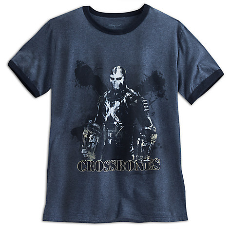 Crossbones Ringer Tee for Adults - Captain America: Civil War