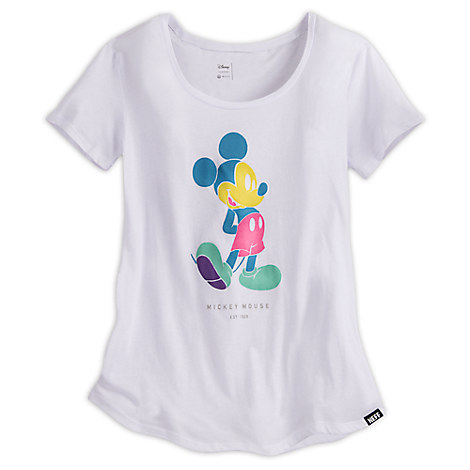 Mickey Mouse Pastel Tee for Women by Neff