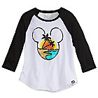 Mickey Mouse Raglan Sleeve Tee for Women by Neff