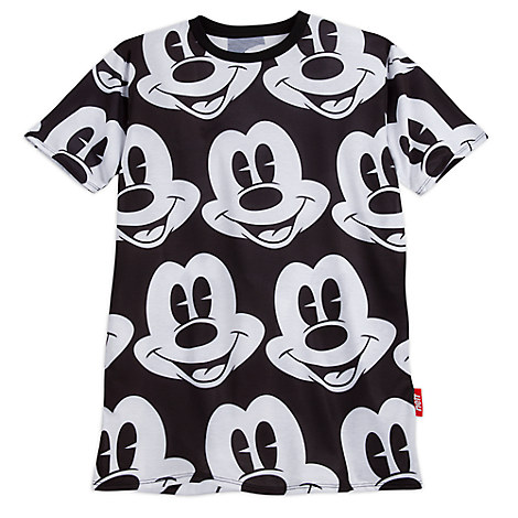 Mickey Mouse Allover Tee for Men by Neff