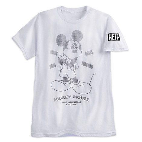 Mickey Mouse Fashion Tee for Men by Neff