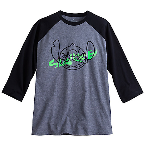 Stitch Raglan Long Sleeve Tee for Men by Neff