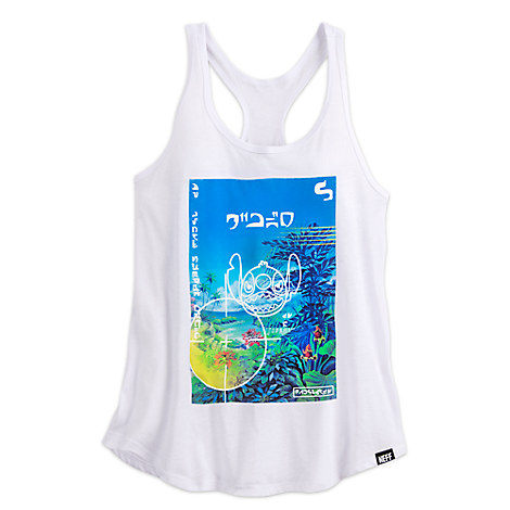 Stitch Tank Tee for Women by Neff
