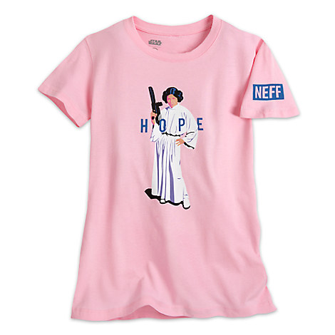 Princess Leia Tee for Juniors by Neff - Star Wars