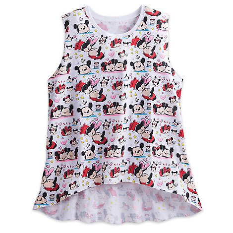 Mickey and Minnie Mouse ''Tsum Tsum'' Tank for Juniors
