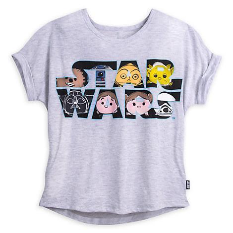 Star Wars ''Tsum Tsum'' Fashion Tee for Juniors