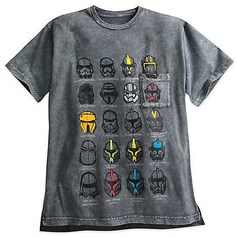 Stormtrooper Stonewash Tee for Men - Star Wars