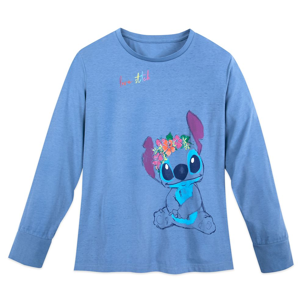 Stitch Long Sleeve T-Shirt for Women