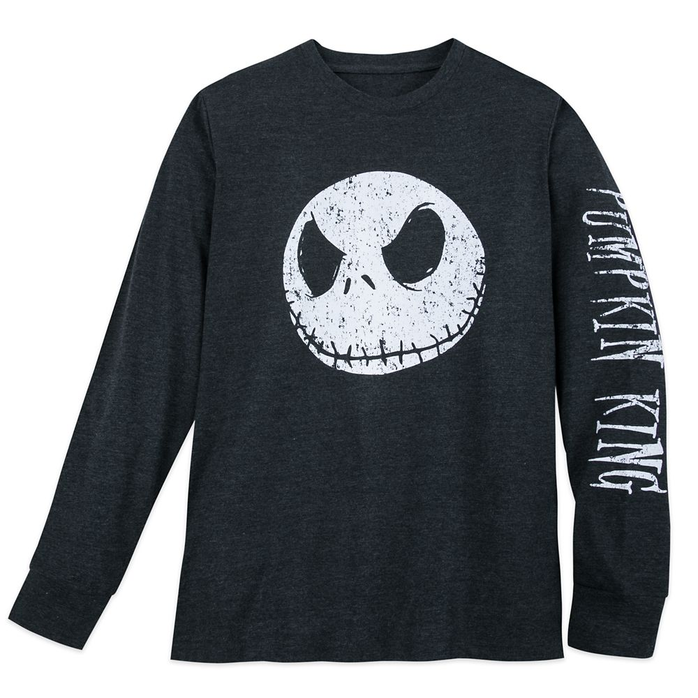 Jack Skellington Long Sleeve T-Shirt for Men