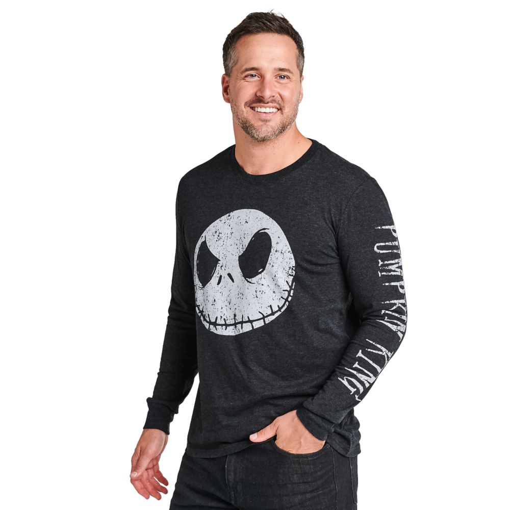 Jack Skellington Long Sleeve T-Shirt for Men