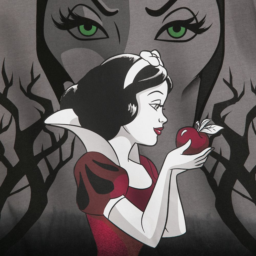 Snow White and Evil Queen T-Shirt for Women – Snow White and the Seven Dwarfs