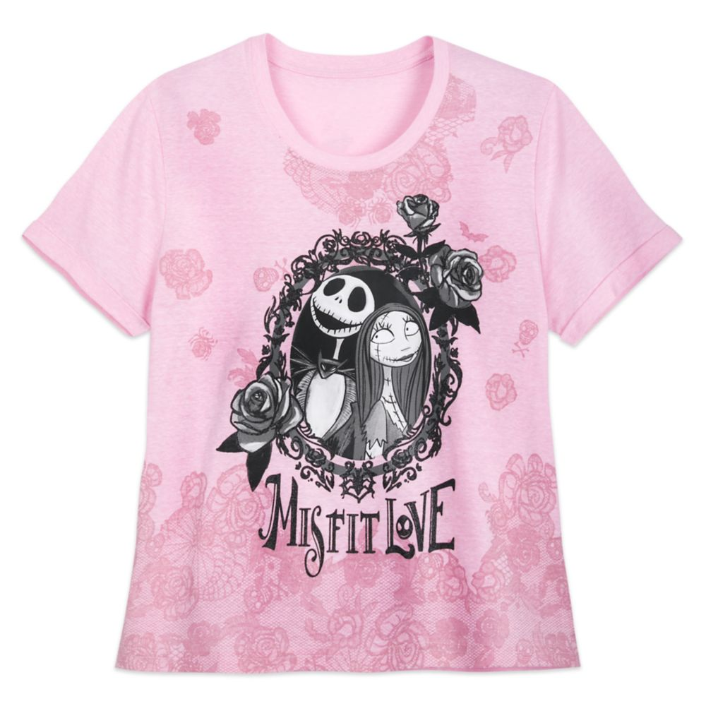 Jack Skellington and Sally T-Shirt for Women – Tim Burton's The Nightmare Before Christmas