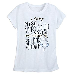 Alice in Wonderland T-Shirt for Women - Oh My Disney
