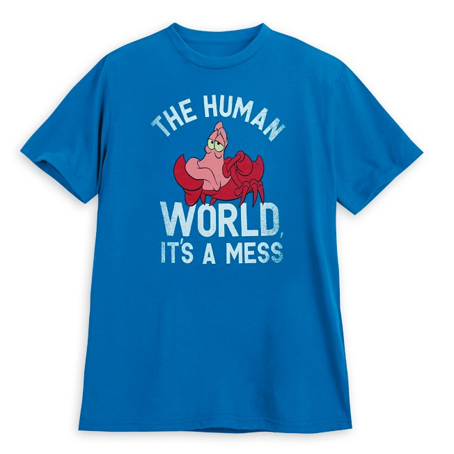 Sebastian T-Shirt for Adults – The Little Mermaid