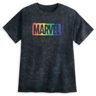 Marvel Logo T-Shirt for Adults – Rainbow Marvel Collection