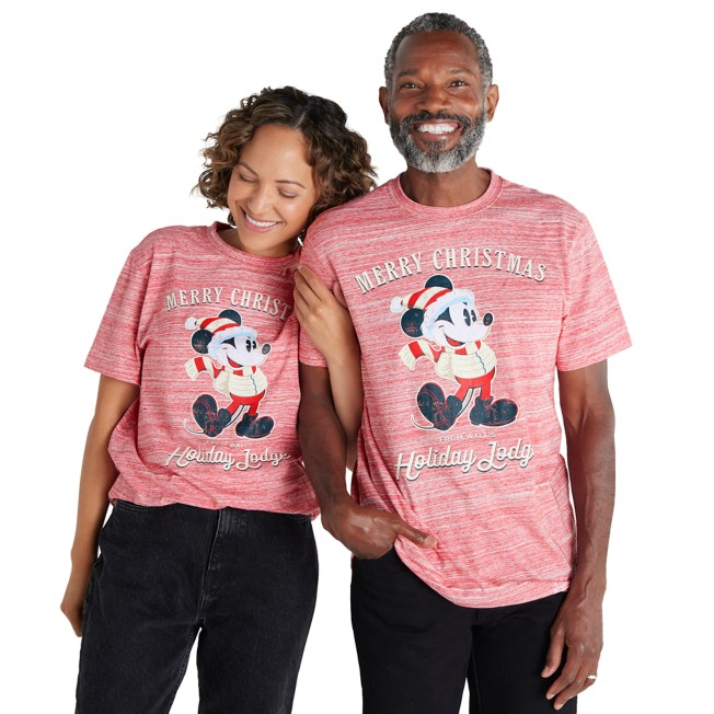 Mickey Mouse ''Merry Christmas'' T-Shirt for Adults