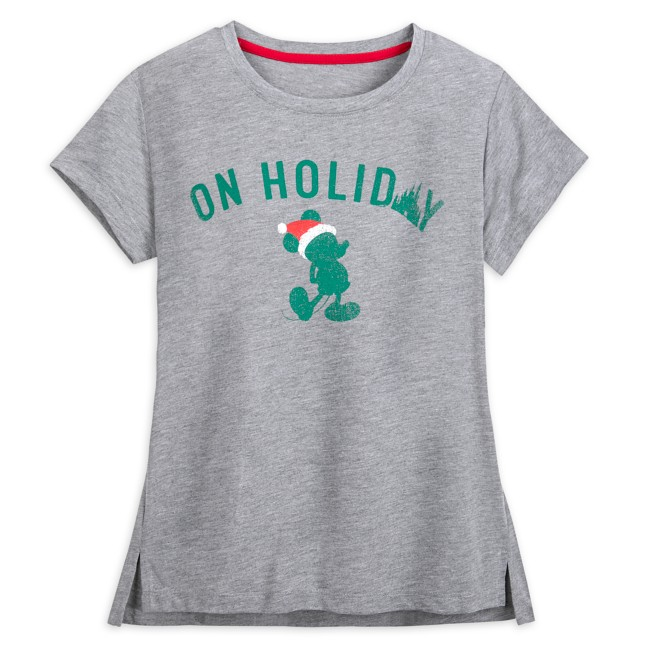 Mickey Mouse ''On Holiday'' Tee for Women