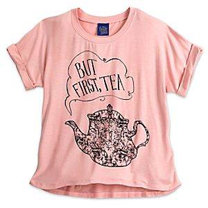 Mrs. Potts Fashion Tee for Juniors – Beauty and the Beast – Live Action Film