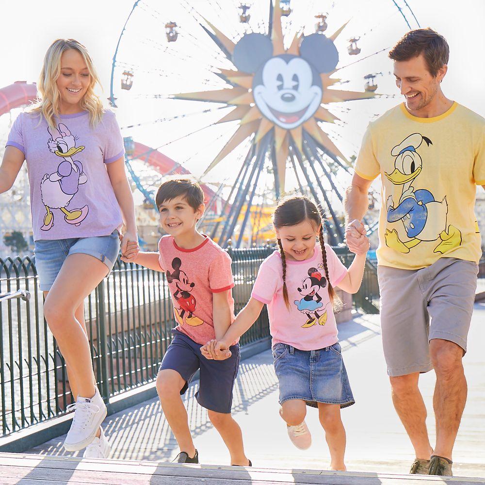 Daisy Duck Ringer T-Shirt for Women