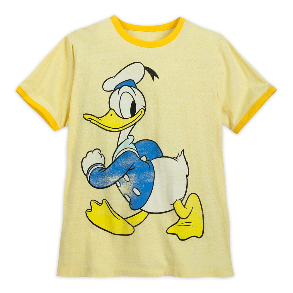 Donald Duck Ringer T-Shirt for Men