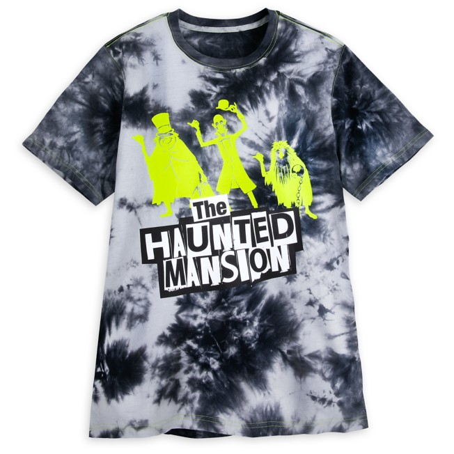 Hitchhiking Ghosts Tie Dye T-Shirt for Adults – The Haunted Mansion