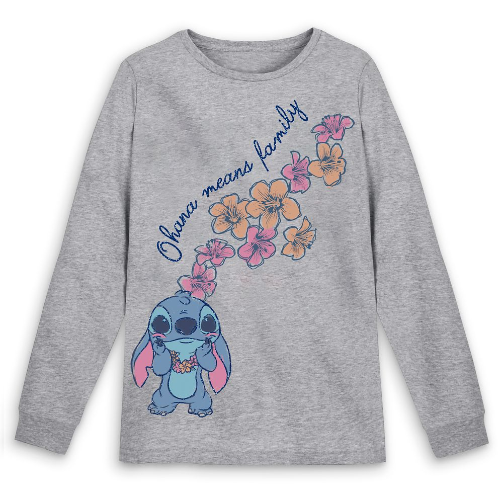 Stitch Long Sleeve T-Shirt for Women