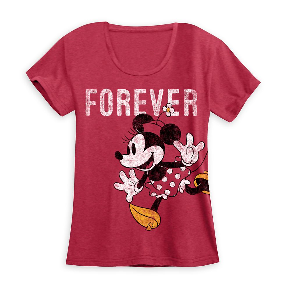 Minnie Mouse ''Forever'' Couples T-Shirt for Women