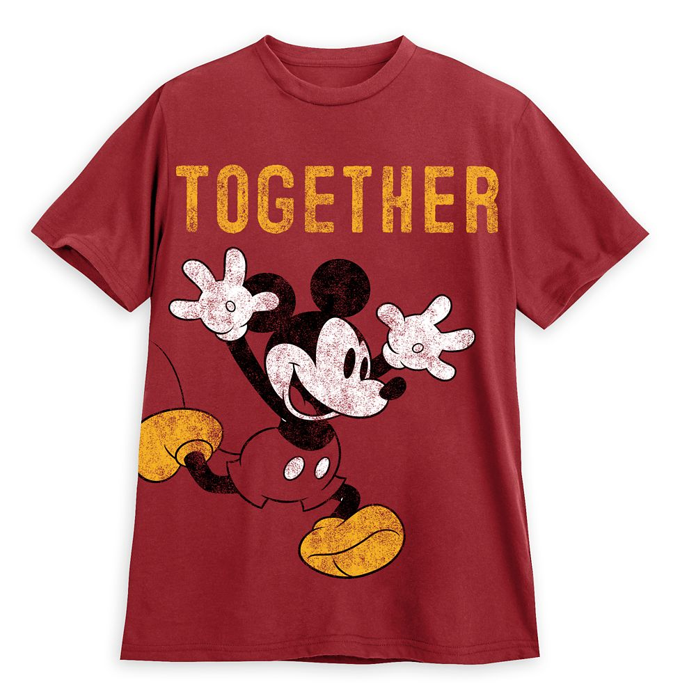 Mickey Mouse ''Together'' Couples T-Shirt for Men