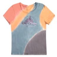 Walt Disney Pictures Logo Tie-Dye T-Shirt for Women