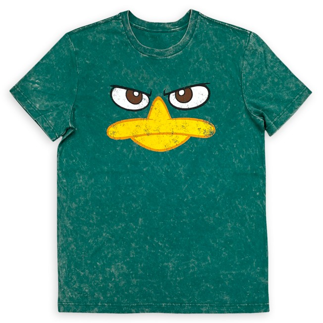 Perry as ''Agent P'' Mineral Wash T-Shirt for Adults – Phineas and Ferb