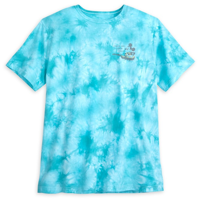 Mickey and Minnie Mouse Tropical T-Shirt for Adults