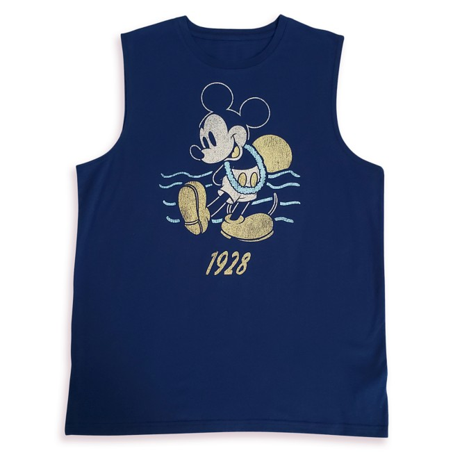 Mickey Mouse Tropical Tank Top for Adults