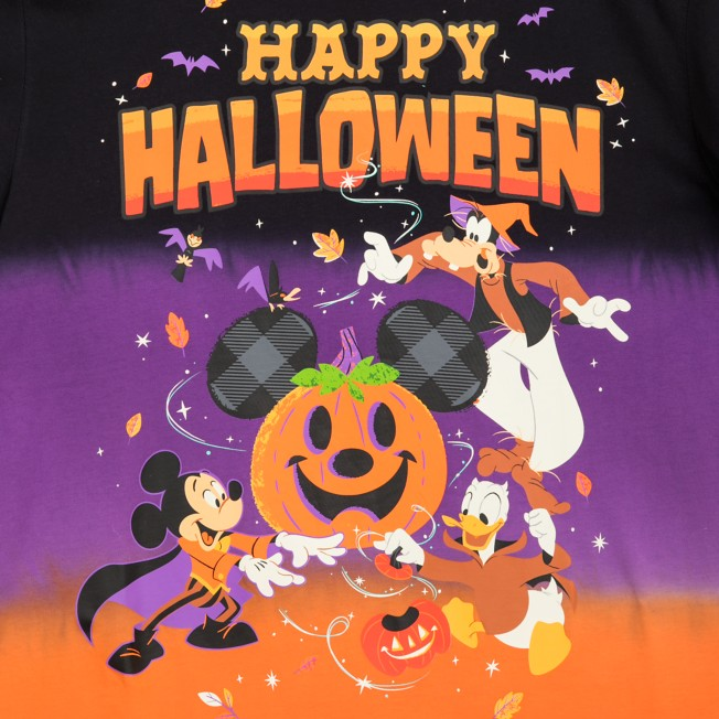 Mickey Mouse and Friends Halloween T-Shirt for Adults | shopDisney