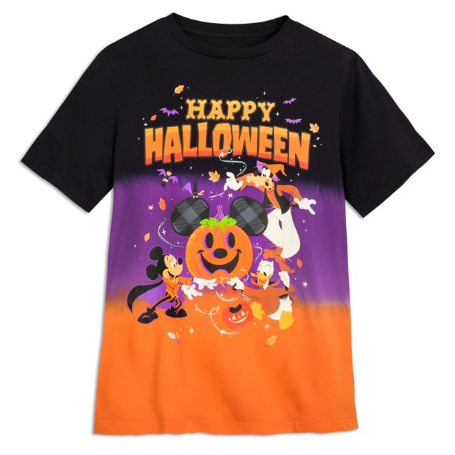 Mickey Mouse and Friends Halloween T-Shirt for Adults