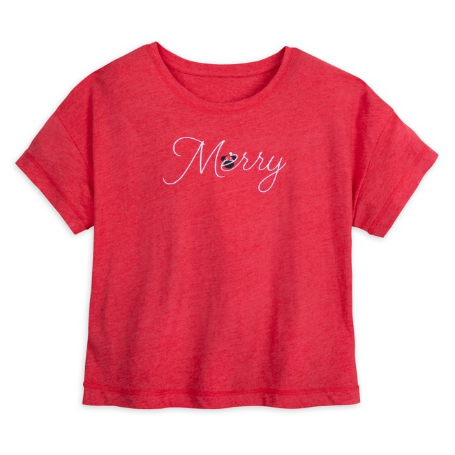 Minnie Mouse ''Merry'' Top for Adults