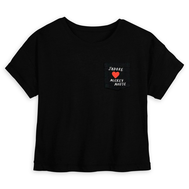Mickey Mouse ''J'Adore'' Fashion Tee for Women