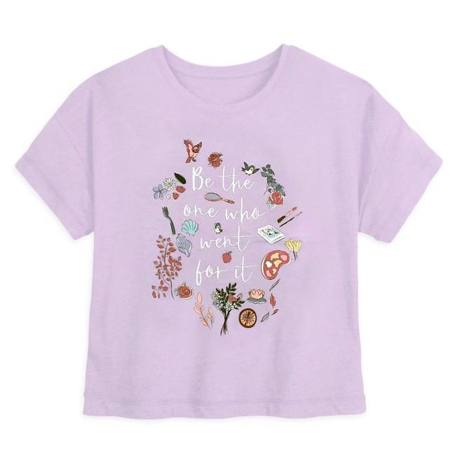 Disney Princess Icons Fashion Tee for Women
