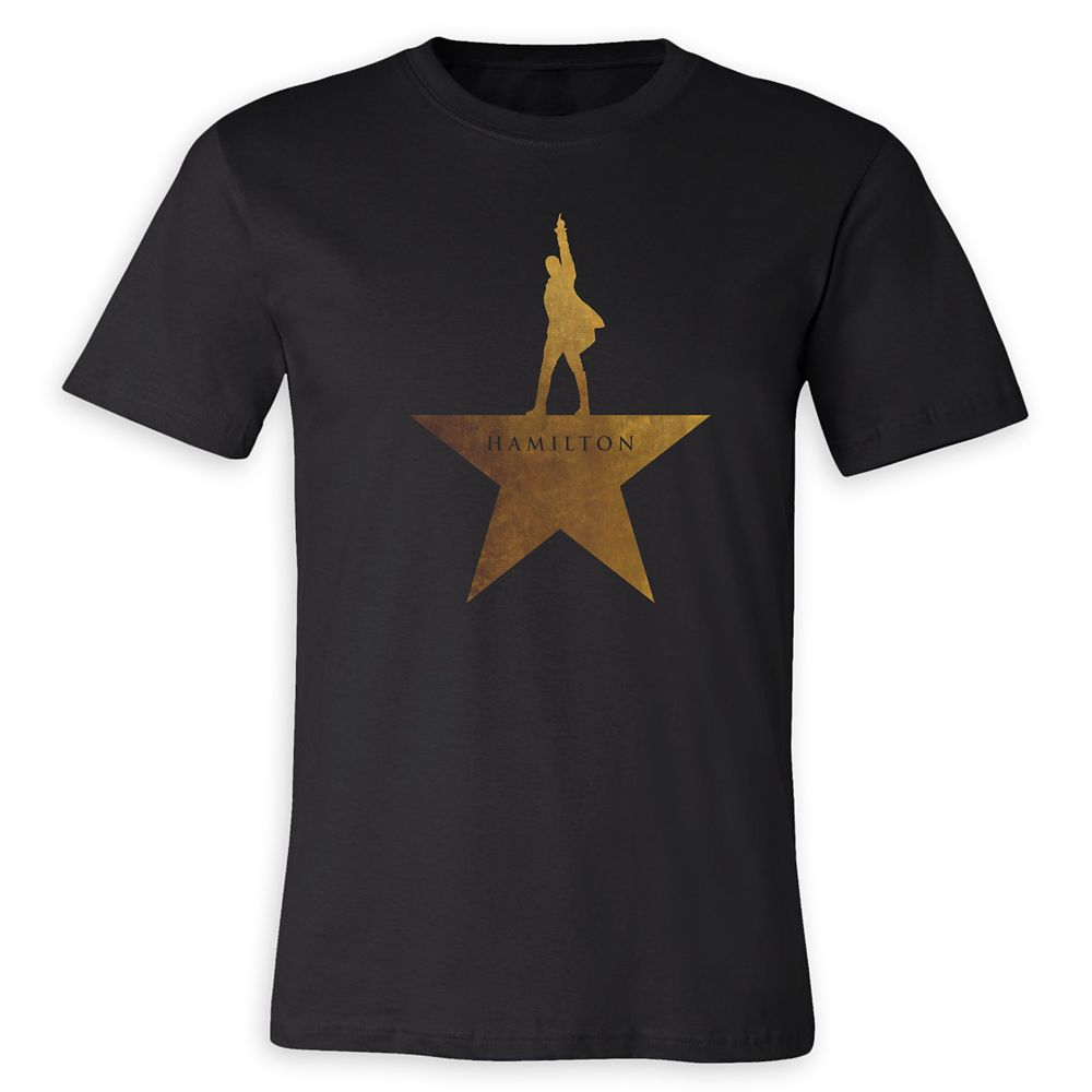 Hamilton Gold Star Logo T-Shirt for Adults