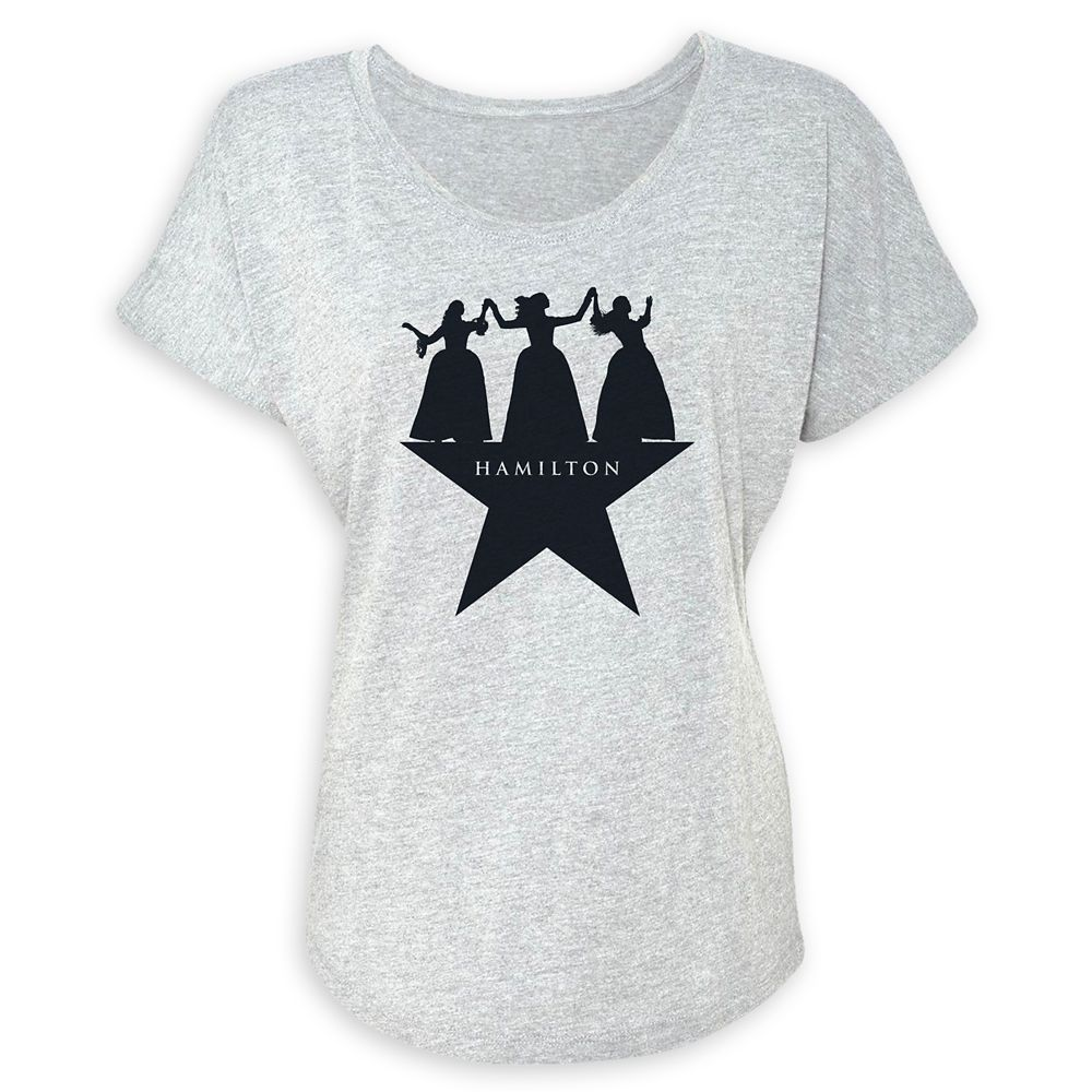 Hamilton Schuyler Sisters Logo T-Shirt for Women